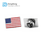 Wholesale Custom Flag Pin Badges Metal Enamel Lapel Pin For Souvenirs