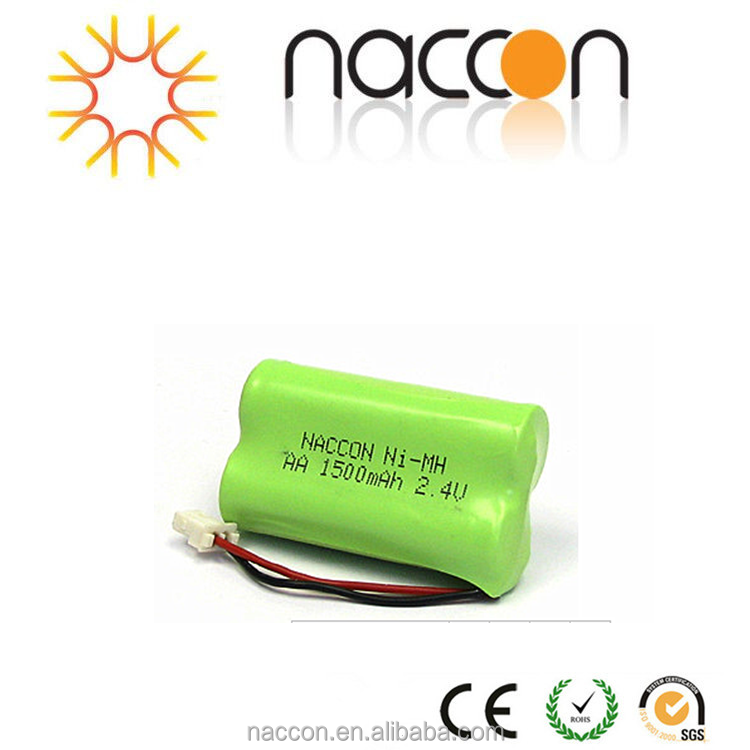 AA 2.4V 1500mAh Ni-MH Rechargeable Battery pack aa ni mh batteries