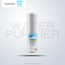 10 inch CTO water filter cartridge alkaline 5 micron water code 7 filter cartridge