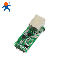 2018 ethernet to ttl module serial UART TTL to RJ45 support HTTPD Client Supported