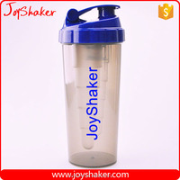 wholesale PP Plastic Type and Eco-Friendly Feature Custom Sport Protein Shaker Bottle/Cups With Mixer Shaker