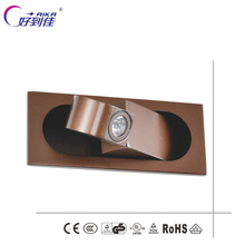 Creative design Modern LED Light/LED wall Lighitng for hotel Popular Simple and Creative recessed bed reading wall light