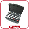 "Taiwan professional hand tool 19 pcs 1/4"" wrench bit Socket set"