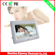 7 inch lcd tft screen digital photo frame viewer 800*480