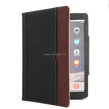 Tablet stand case for ipad air leather case for iPad min 4 Model Soft Leather Wallet Cover with Sleep / Wake Feature Flip Case