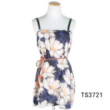 TOROS Malaysia Fashion Women Summer Flower Girl Dress Viscose Shawl