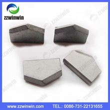 Hot sale H20 Type Tungsten Carbide Ss10 Tips Brazed Tips For Stone Cutting