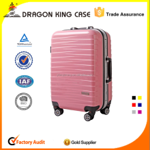 Aluminum frame travel luggage case ABS+PC trolley luggage case with aluminium frame travel trolley luggage case