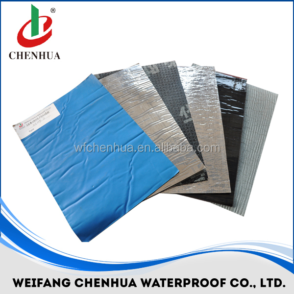 Bitumen adhesive membrane waterproof for concrete -- China factory direct sales