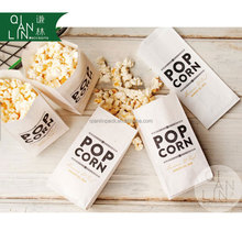 Popcorn Paper Bag With 50gsm Greaseproof Paper Material