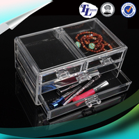 Custom Excellent acrylic makeup organizer 5 drawer yageliisplay and storage
