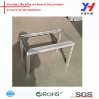 custom fabrication aluminum profile metal stand for air conditioner
