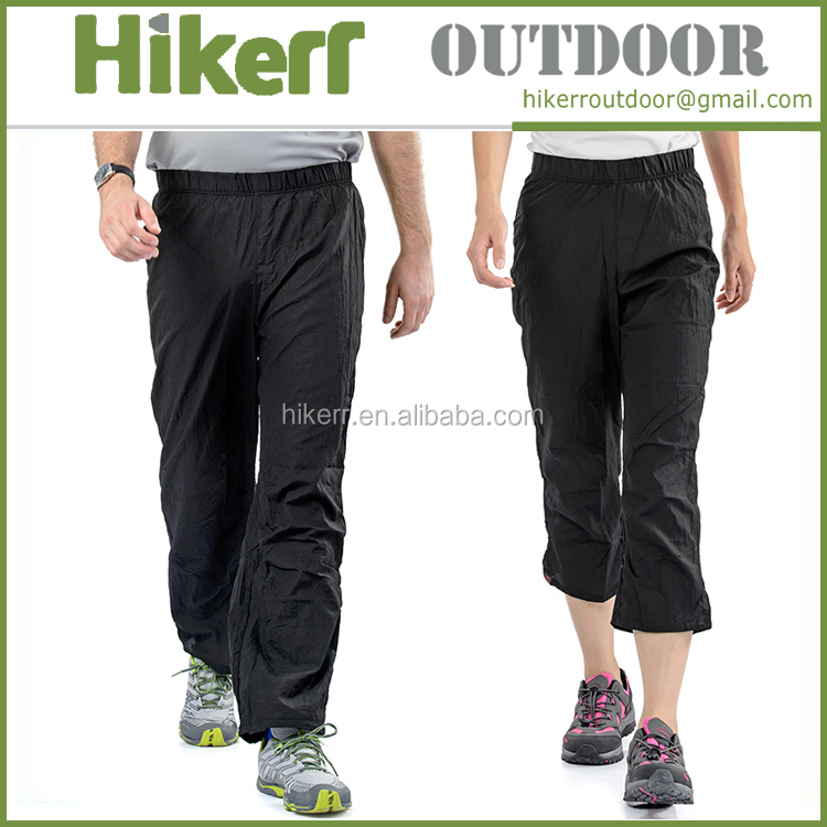 Naturehike men's skin trousers ultra-light water resistant women's pants outdoor breathable quick dry pants
