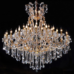 Luxury Maria Theresa Crystal Chandelier Hotel Lobby Chandeliers Cristal Lighting in Dubai CZ6052/44