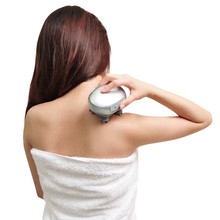 Japan Double Handheld Electric Plastic Salon Head Electronic Body Silicone And Shoulder Neck Massager