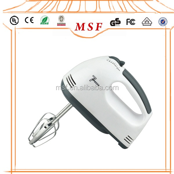 New Kitchen Household Appliance 7 Speed Stand 100W Mini Electric Hand Mixer