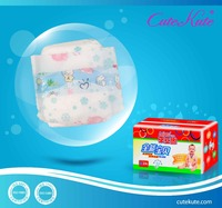 Wholesale Ultra Breathable S/M/L/XL Printed Disposable Baby Diaper