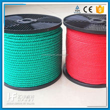 Sale Braided 16mm Polyester Multifilament Rope Braided Rope