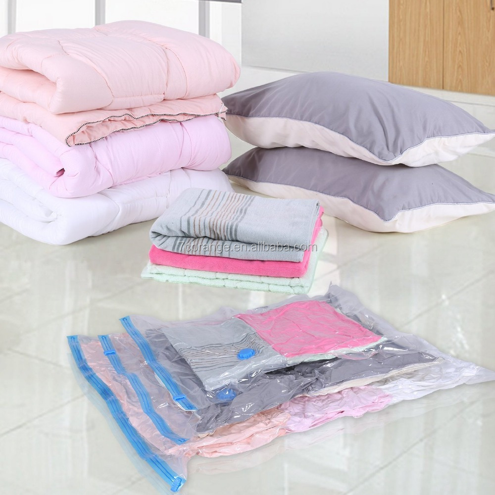 Factory price vacuum seal storage bag for bedding