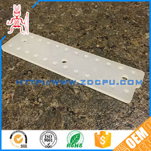 Long working life practical chemical resistant perforated plastic sheet
