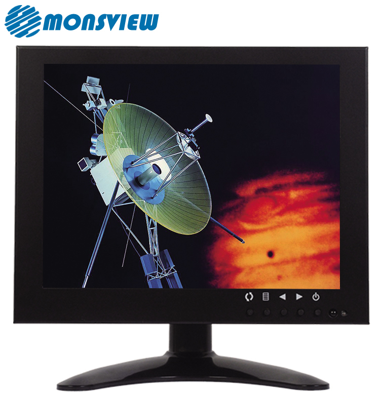 Camera Monitor FHD Square Computer IPS Display 9.7 Inch LED Monitor