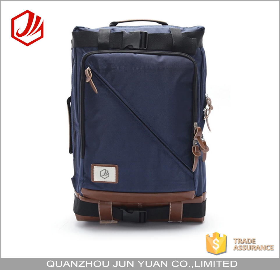 Large custom oem nylon backpack travelling knapsack