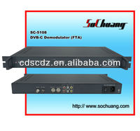 SC-5108 QAM/DVB-C RF Demodulator/Cable Digital TV Headend