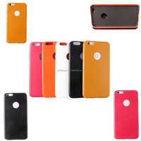 Customize Stand Protective pu leather back case cover for smartphone