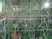 Galvanized types of scaffolding system