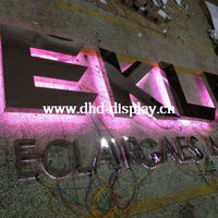 3D back lit led channel letter for USA