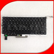 Wholesale 15.4'' A1286 Spanish Keyboards For Apple Macbook Pro A1286 Spanish / Espana Keyboard Replacement Keyboards