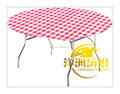 1.5m round printing spandex lycra toppers, round lycra toppers, fitted stretch table toppers for round banquet tables