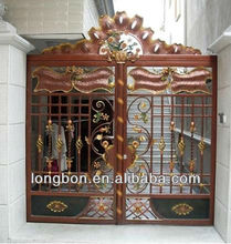 Manufacture outdoor garden Wrought Iron Gate Paint Colors High Quality