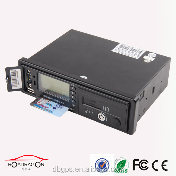 128x64 dot matrix LCD screen gps tracker with Illegal to open the door alarm and parking timeout alarm