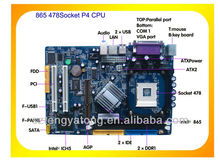 Intel XEON Combo with 865 motherboard mainboard , All in one combo