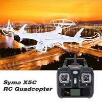 2.4G 4-Axles RC Quadcopter with Camera Drone UAV RTF with 2MP HD Camera RC Helicopter for Syma X5C Toy