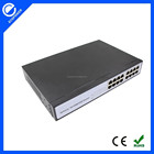 16 port 100M poe 24v output switch 24v