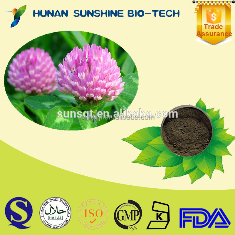 China Supplier Red Clover Extract 8% Isoflavones