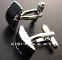 Adornments Providers Elegant Black Onyx Cufflinks