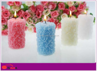 paraffin wax candle valantines day return gift wedding decoration