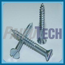 DIN 97 Slotted Countersunk Head Wood Screws with Galvanization