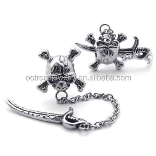 Funny sword helmet different styles of earring back parts supplies factory