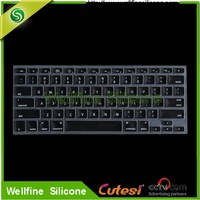 Silicone Keyboard protective film/soft Silicone Rubber Keyboard cover