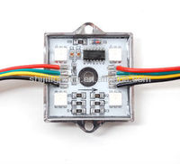 4 smd leds waterproof led module DC 12V smd 5050 pixel leds