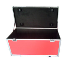 large capacity plywood and aluminum cable flight case