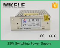 electric recliner power supply s-25-24 25w 24v single output switching power supply cord with switch