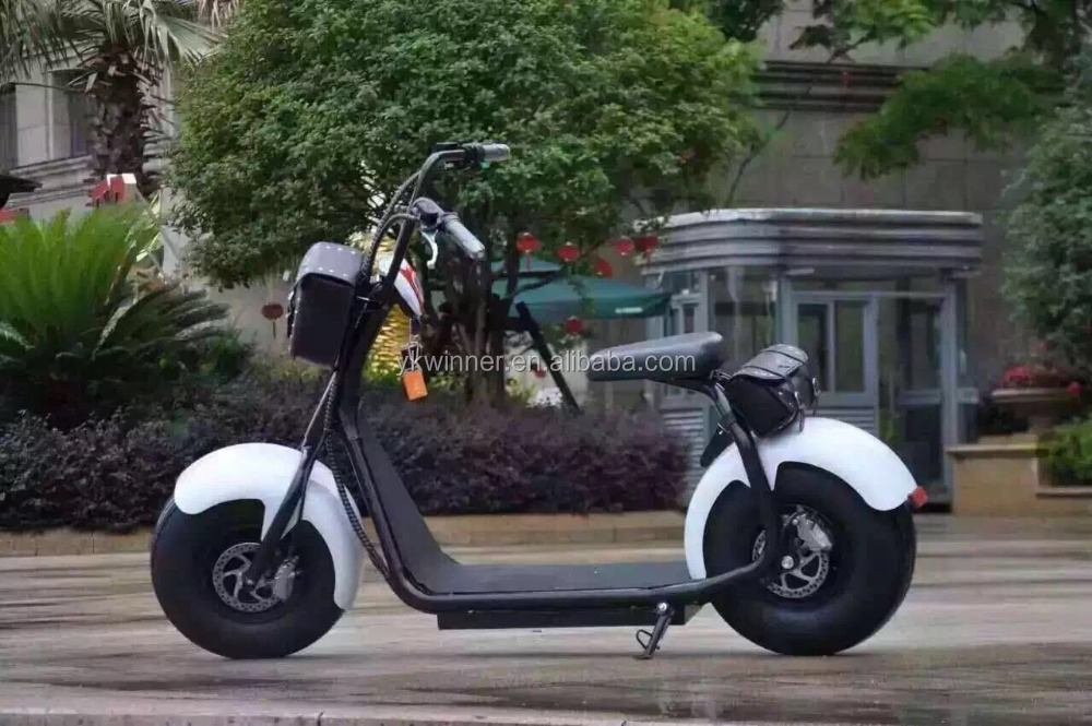 Citycoco 2016 the most fashionable Halley 2 wheel adults electric scooter Newest citycoco electric halley moto scooter