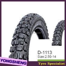 new China Top Quality motorcycle tubeless tyres 3.00-18 350-16 100/90-18