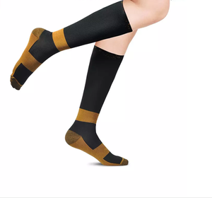 Copper Infused Fibers compression socks 100% nylon Miracle Socks