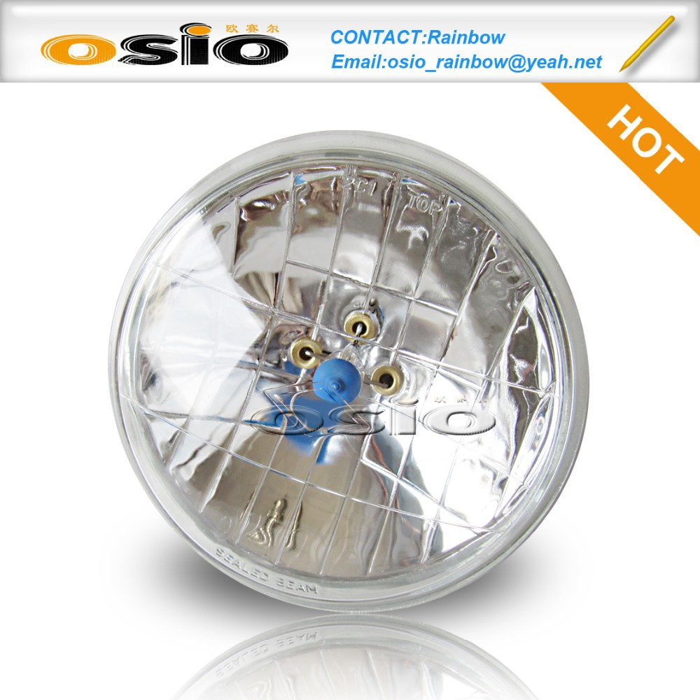 5 inch Round Auto Halogen Sealed Beam H4 Headlight